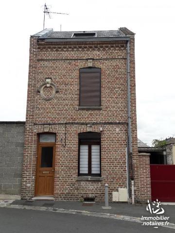 Vente - Maison - Amiens - 72.00m² - 5 pièces - Ref : 80010-209