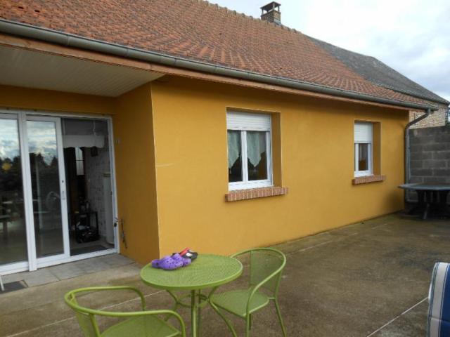 Vente - Maison - Hornoy-le-Bourg - 111.00m² - 7 pièces - Ref : R80110/114