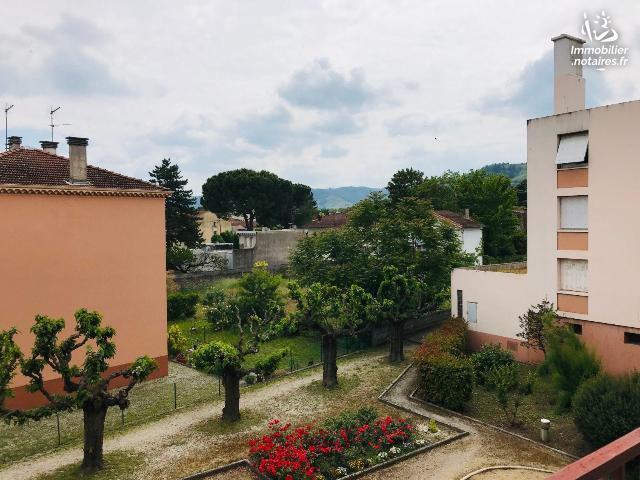 Vente - Appartement - Tournon-sur-Rhône - 49.00m² - 2 pièces - Ref : 10271/278