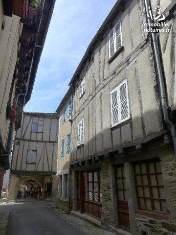Vente - Maison - Sauveterre-de-Rouergue - 130.0m² - 6 pièces - Ref : LJ635