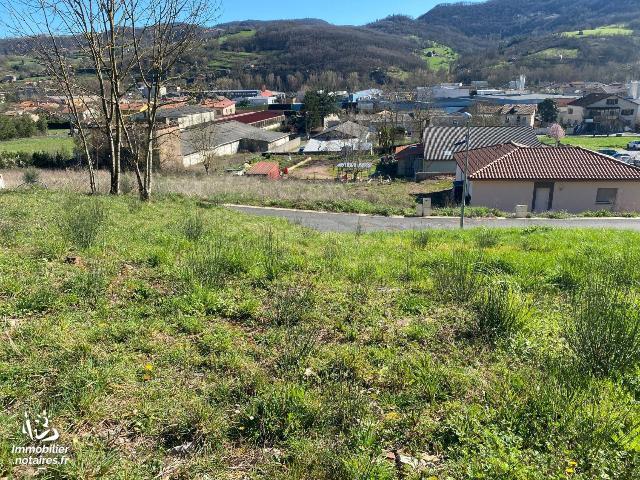 Vente - Terrain à bâtir - Saint-Affrique - 876.0m² - Ref : 10443/175