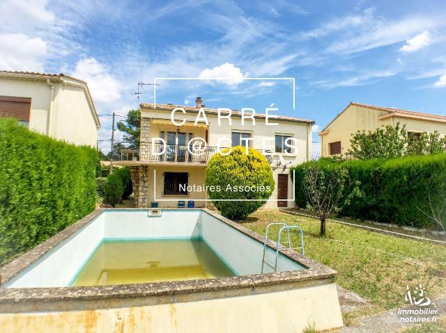 Vente - Maison - Garons - 116.00m² - 5 pièces - Ref : 1010599