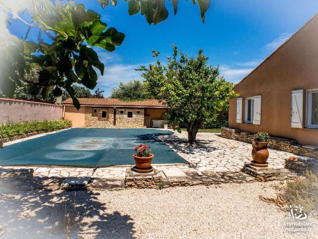 Vente - Maison - Bezouce - 97.58m² - 4 pièces - Ref : 1009727
