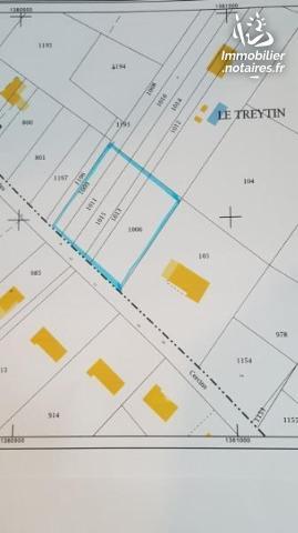 Vente - Terrain à bâtir - Grayan-et-l'Hôpital - 2000.00m² - Ref : 100/1583