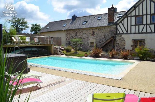 Vente - Maison - Bréal-sous-Montfort - 600.00m² - 25 pièces - Ref : 35129-1327