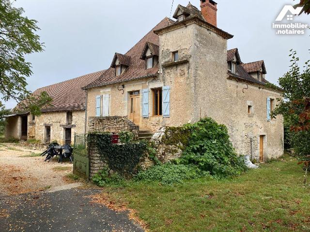 Vente - Maison - Cajarc - 180.0m² - 5 pièces - Ref : 46028/CA/560