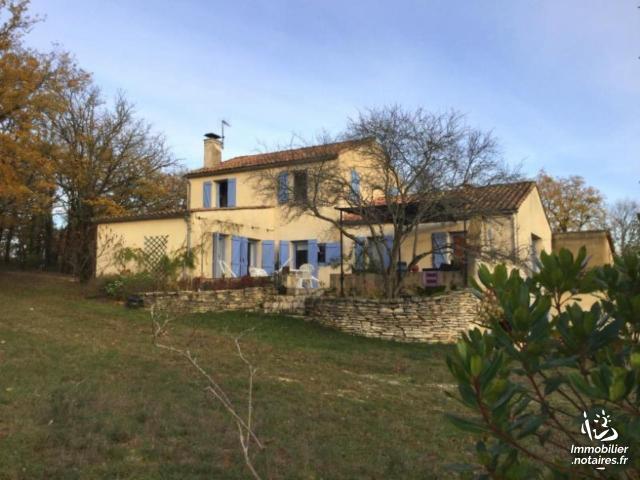 Vente - Maison - Gourdon - 190.00m² - 9 pièces - Ref : 46041/221