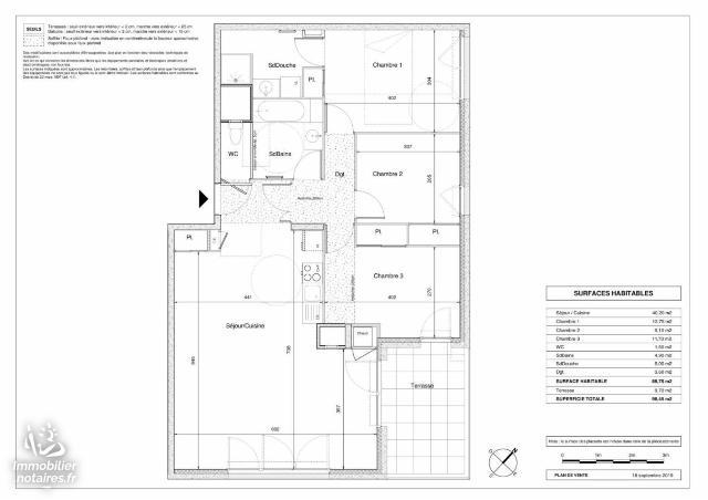 Vente - Appartement - Saint-Genis-Pouilly - 88.75m² - 4 pièces - Ref : 085/A/347