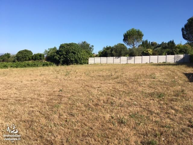 Vente - Terrain à bâtir - Lédignan - 1878.00m² - Ref : 81/D