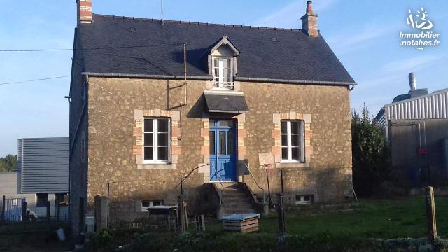 Vente - Maison - Louvigné-du-Désert - 68.0m² - 4 pièces - Ref : 9029