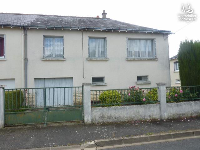Vente - Maison - Saint-Paterne-Racan - 75.00m² - 5 pièces - Ref : 042/1111