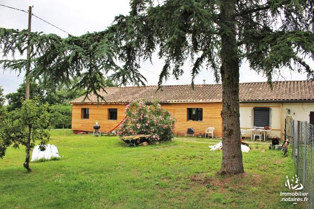 Vente - Maison - Durfort-Lacapelette - 140.0m² - 6 pièces - Ref : 038/576