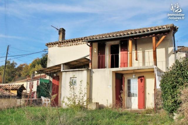 Vente - Maison - Montaigu-de-Quercy - 70.00m² - 4 pièces - Ref : 038/446