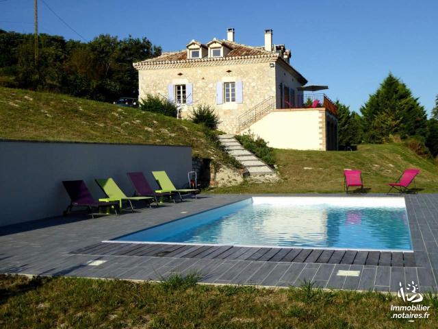 Vente - Maison - Montbarla - 125.00m² - 8 pièces - Ref : 038/485